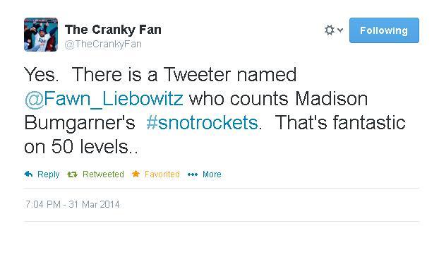 Tweets-CrankyFan-Snotrockets