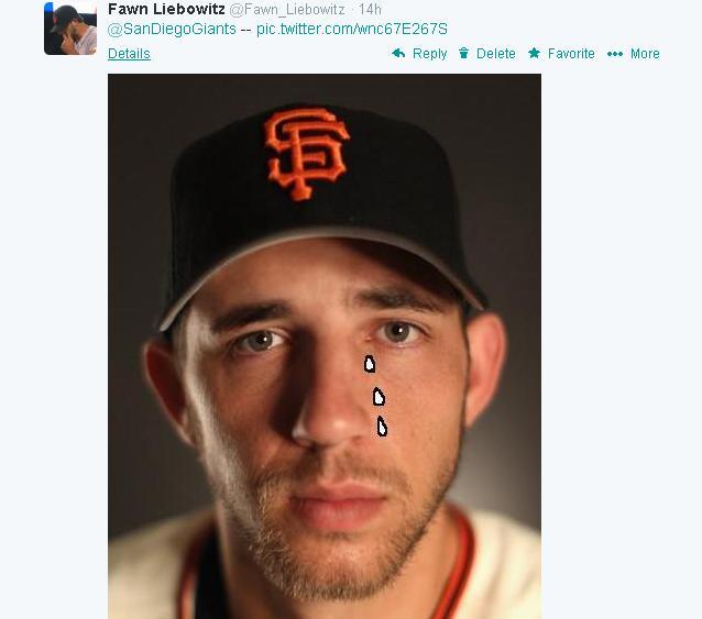 Tweets-FL-Bumgarner Tears