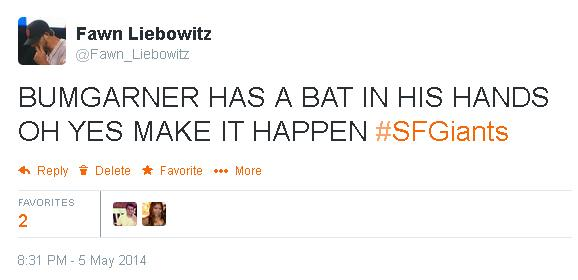 Tweets-FL-Bumgarner-Pinch Hit