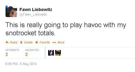 Tweets-FL-Havoc With Snotrocket Totals