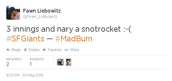 Tweets-FL-Nary A Snotrocket