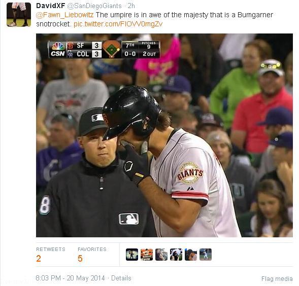 Tweets-SanDiegoGiants-Stealth Snotrocket-Umpire