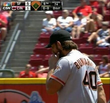 Giants-Bumgarner-Snotrocket-2014-06-05-4-Double-Right