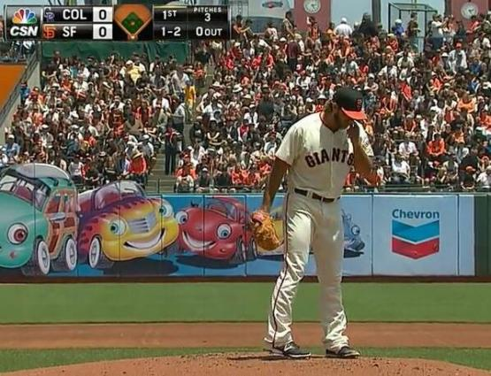 Giants-Bumgarner-Snotrocket-2014-06-15-1