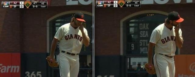 Giants-Bumgarner-Snotrocket-2014-07-13-1