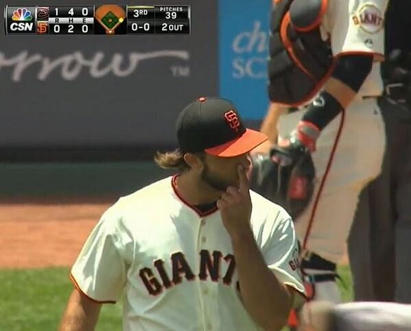 Giants-Bumgarner-Snotrocket-2014-07-13