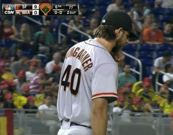 Giants-Bumgarner-Snotrocket-2014-07-18