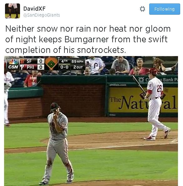 Tweets-SanDiegoGiants-Bumgarner-Snotrocket-2014-07-23