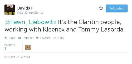 Tweets-SanDiegoGiants-Claritin
