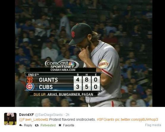 Giants-Bumgarner-Snotrocket-2014-08-21-1-Tweet