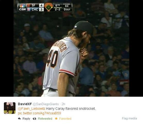 Giants-Bumgarner-Snotrocket-2014-08-21-2-Tweet