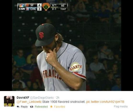 Giants-Bumgarner-Snotrocket-2014-08-21-3-Tweet
