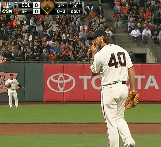 Giants-Bumgarner-Snotrocket-2014-08-26-1
