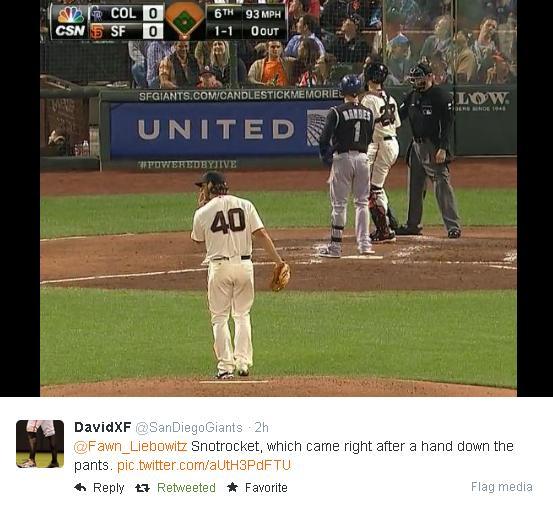 Giants-Bumgarner-Snotrocket-2014-08-26-2-Tweet
