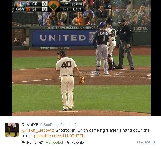 Giants-Bumgarner-Snotrocket-2014-08-26-2-Tweet