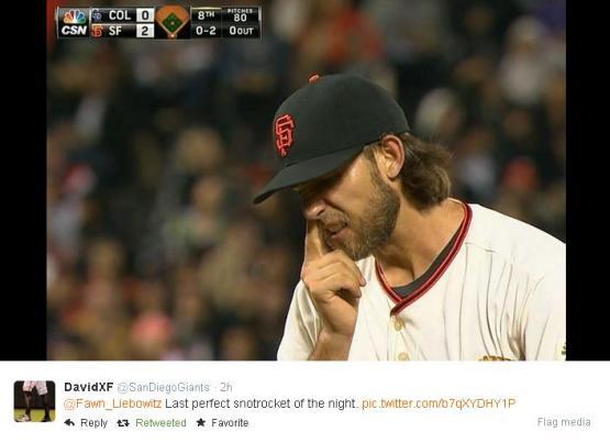 Giants-Bumgarner-Snotrocket-2014-08-26-5-Tweet