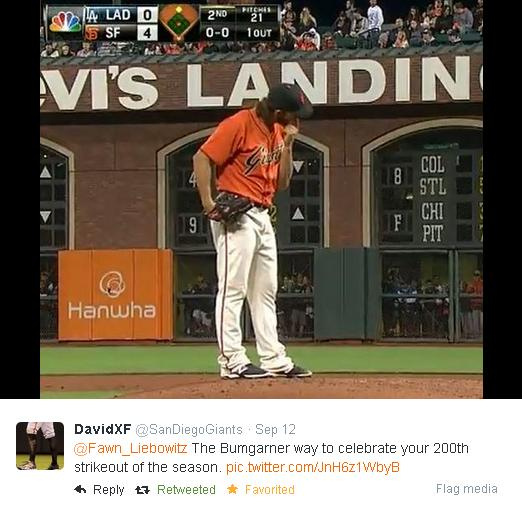 Giants-Bumgarner-Snotrocket-2014-09-12-Tweet