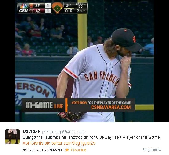 Giants-Bumgarner-Snotrocket-2014-09-17-1-Tweet