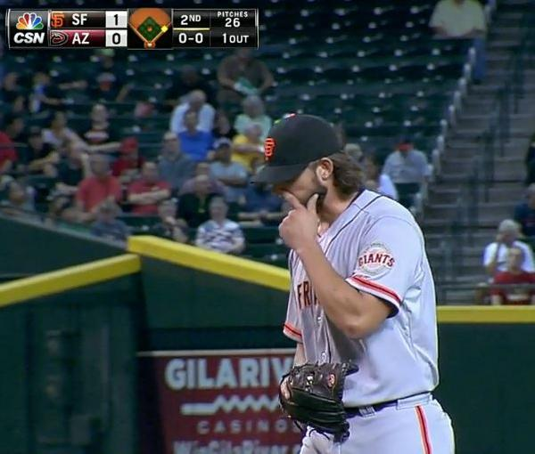 Giants-Bumgarner-Snotrocket-2014-09-17