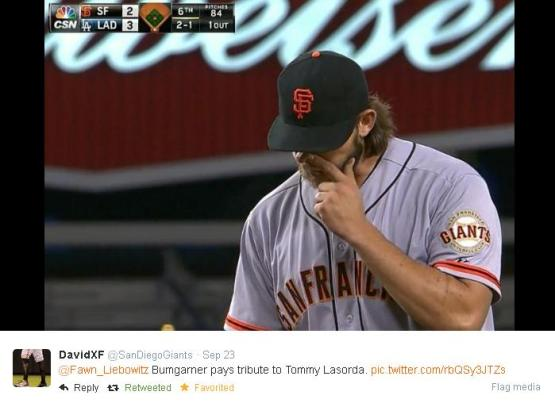 Giants-Bumgarner-Snotrocket-2014-09-23-2-Tweet