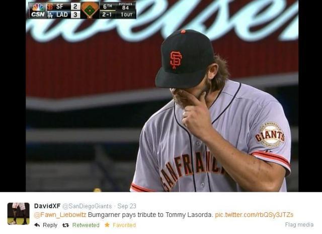 Giants-Bumgarner-Snotrocket-2014-09-23-2-Tweet