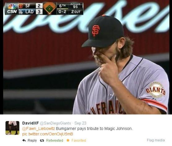 Giants-Bumgarner-Snotrocket-2014-09-23-3-Tweet