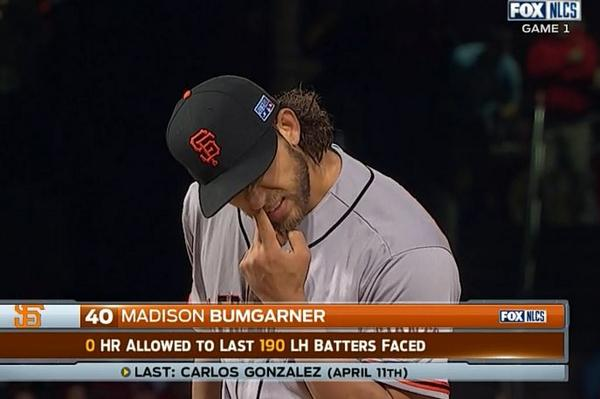 Giants-Bumgarner-Snotrocket-2014-10-11