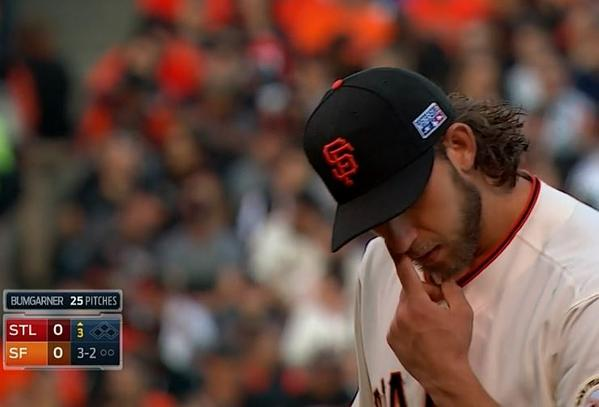 Giants-Bumgarner-Snotrocket-2014-10-16-1