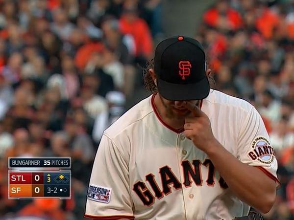 Giants-Bumgarner-Snotrocket-2014-10-16-2