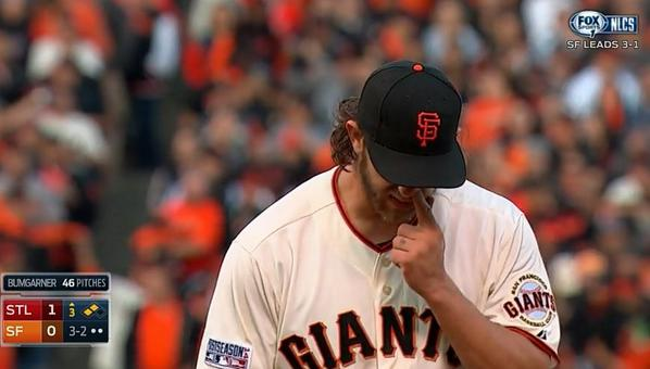 Giants-Bumgarner-Snotrocket-2014-10-16-3
