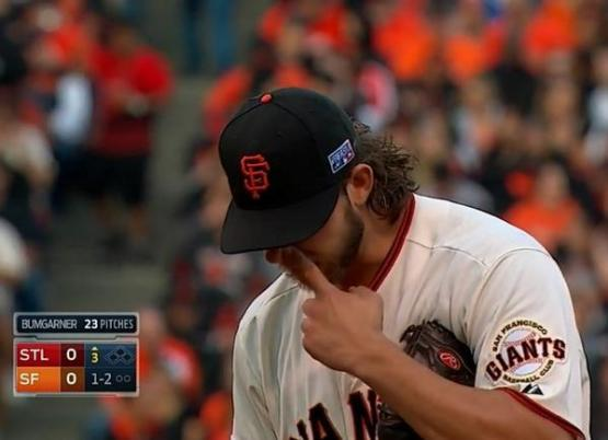 Giants-Bumgarner-Snotrocket-2014-10-16
