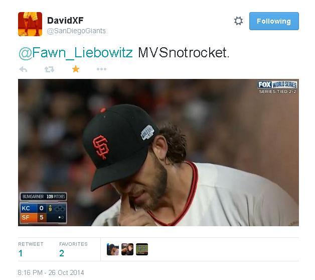 Giants-Bumgarner-Snotrocket-2014-10-26-7-Tweet-1