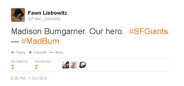 Tweets-FL-Bumgarner-Our Hero-2014