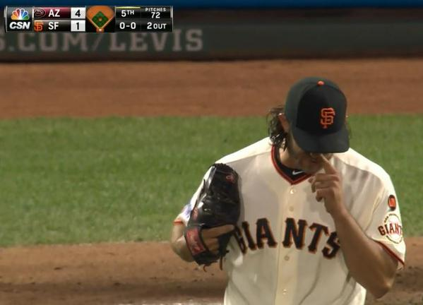 Giants-Bumgarner-Snotrocket-2015-04-16-2-Right Side