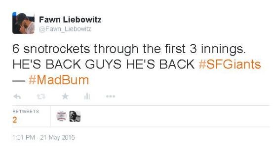 Giants-Bumgarner-Snotrocket-2015-05-21-Tweet