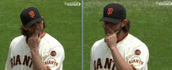 Giants-Bumgarner-Snotrocket-2015-05-21
