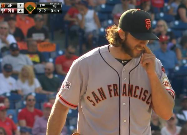 Giants-Bumgarner-Snotrocket-2015-06-06-Double-Right