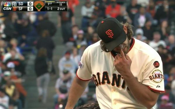 Giants-Bumgarner-Snotrocket-2015-06-23