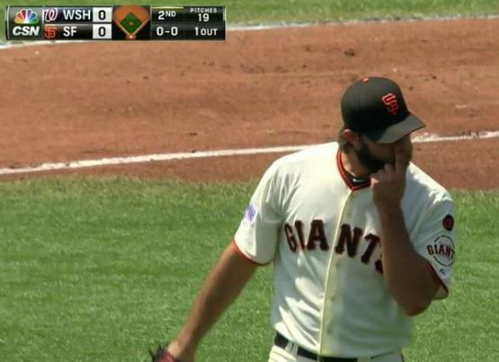 Giants-Bumgarner-Snotrocket-2015-08-16-1