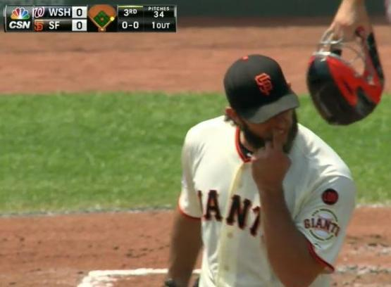 Giants-Bumgarner-Snotrocket-2015-08-16-2