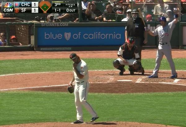 Giants-Bumgarner-Snotrocket-2015-08-27-3-Double-Left
