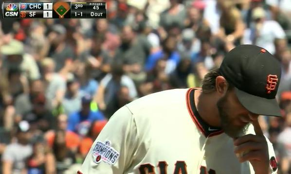 Giants-Bumgarner-Snotrocket-2015-08-27-3-Double-Right