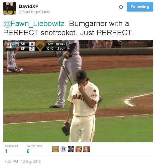 Giants-Bumgarner-Snotrocket-2015-09-12-3-Twitter