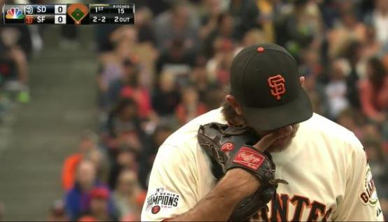 Giants-Bumgarner-Snotrocket-2015-09-12