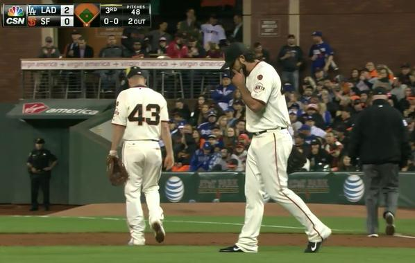Giants-Bumgarner-Snotrocket-2015-09-29-3