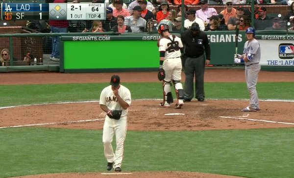 Giants-Bumgarner-Snotrocket-2016-04-09