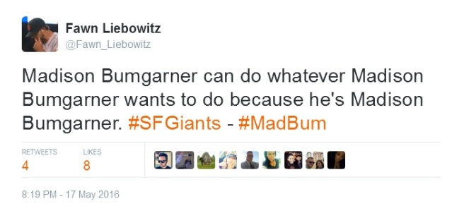 Giants-Bumgarner-Snotrocket-2016-05-17-FL Tweet