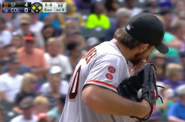 Giants-Bumgarner-Snotrocket-2016-05-28-4-Double-Left