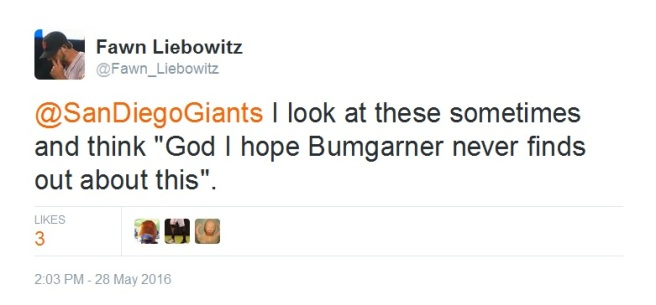 Giants-Bumgarner-Snotrocket-2016-05-28-Tweet-FL-Never Finds Out
