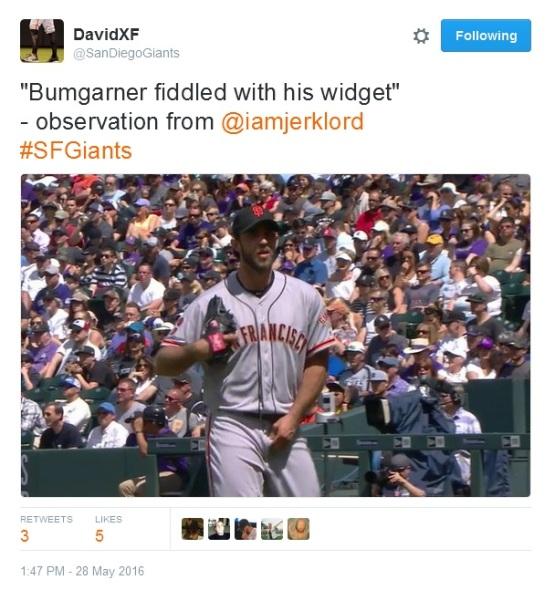 Giants-Bumgarner-Snotrocket-2016-05-28-Widget Fiddle-Tweets